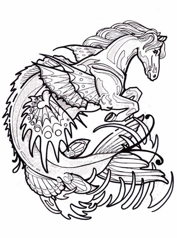 cryptids coloring pages - photo#16