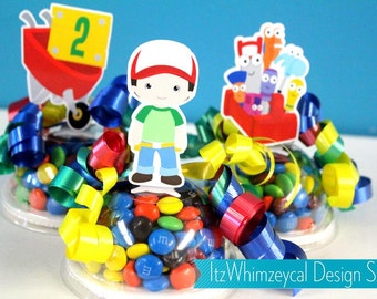 Handyman | Handy Man | Tool Box | Toolbox | Personalized | Personalised | Party Favors | Favor Containers | Candy Container | Decoration