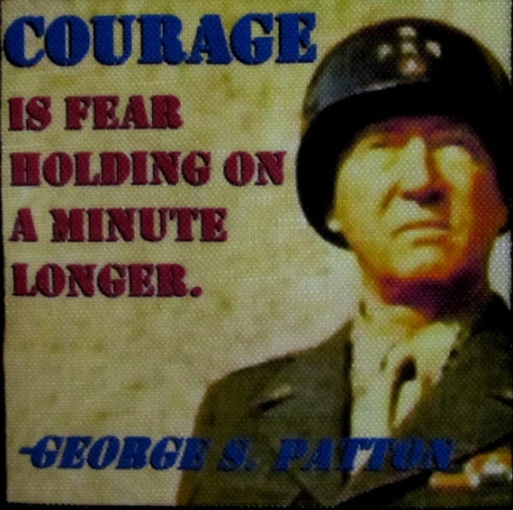 General Patton Quotes: General George Patton Quote 2 Printed Patch Sew On Vest