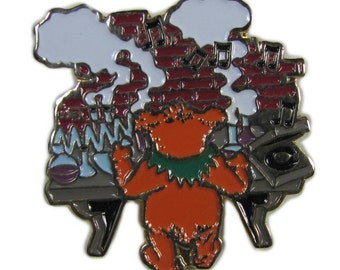 Grateful Dead Owsley Bear Chemistry Lapel Pin