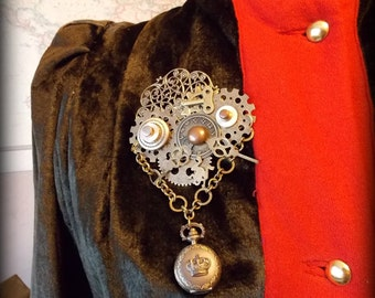 SALE 3 pc Med/ Lg Steampunk Victorian Outfit