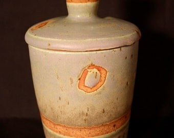 Handmade One of a Kind Ceramic Lidded Jar