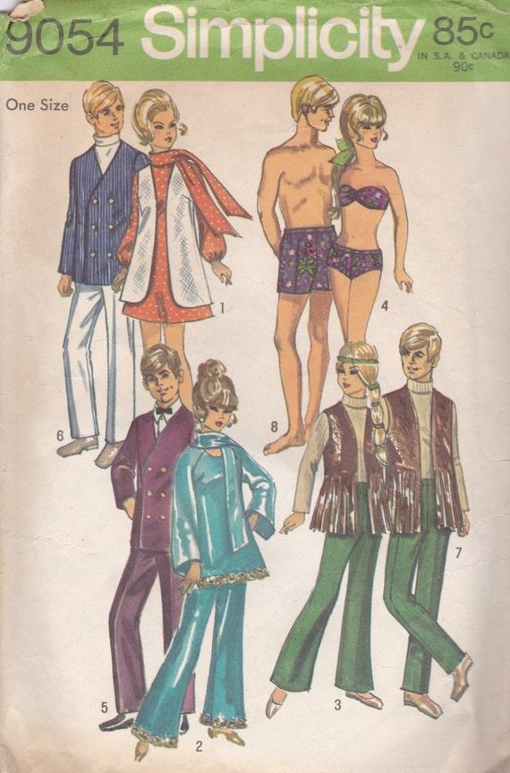 70er jahre barbie ken kleidung transparentem einfachheit. Black Bedroom Furniture Sets. Home Design Ideas