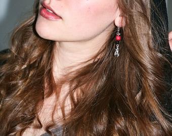 Vampire's Kiss earrings