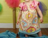 Custom Boho Peasant Dress