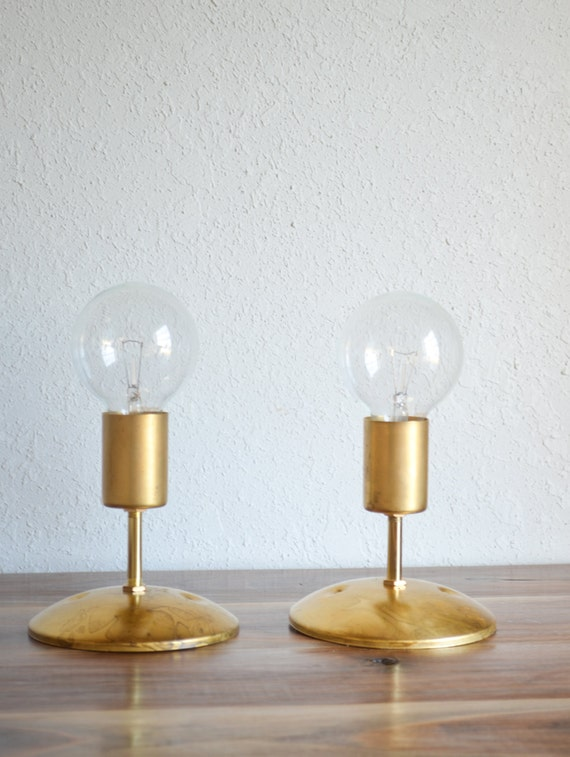 Modern Wall Sconces Hallway : Mod No. 1 Solid Brass Industrial modern wall by triple7recycled