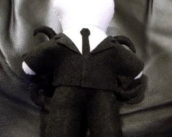 Slender Man Plushie [Made to Order]