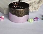 One Purple and Black Jewelry gift box
