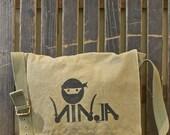 Messenger Bag, Organic Cotton Canvas
