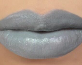 "Vegan Lipstick - ""Dandelion"" (grey / gray lipstick) natural lip tint, balm, lip colour opaque mineral lipstick"