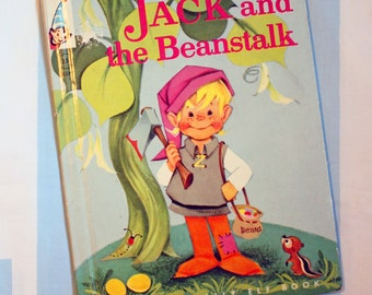 Jack And The beanstalk, 1961 Elf Book