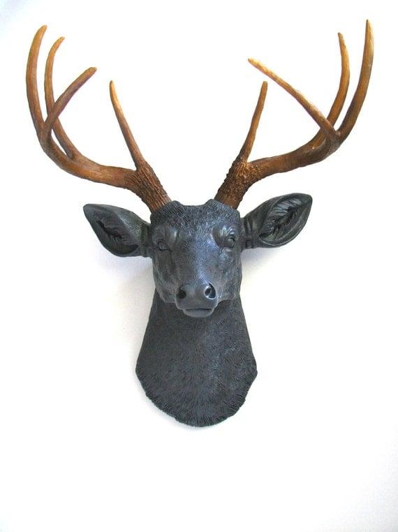 Faux Taxidermy Deerman The Deer Head Wall Mount Wall Decor