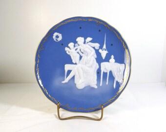 Pate-sur-pate Porcelain Plate