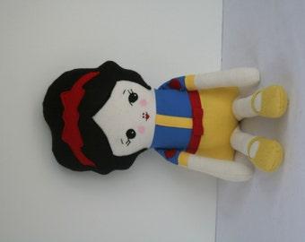 Ready to Ship Handmade Girl Doll, Fabric Doll, Soft Doll, Soft Doll, Handmade Fabric Doll, Child Friendly Doll, Soft Doll,