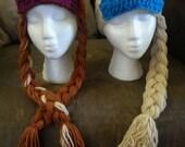 Elsa Hat or Anna Hat - Custom! Any size!