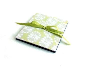 Baby brag book, 4 x 4 photo album, instagram album, chartreuse square album, made to order