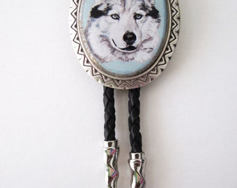 Siberian Husky Classic Bolo Tie