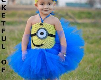 toddler girl birthday dress one eye face tutu dress