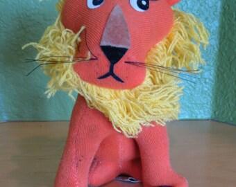 Dream Pet, Dakin,R. Dakin,Lion,Stuffed Lion,Velveteen,Lions Club