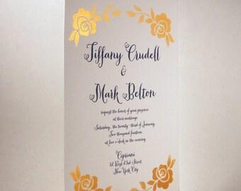 AIRBRUSH - Rose Invitation
