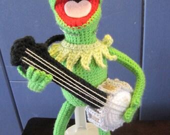 Kermit the Frog Inspired Amigurumi Crochet Pattern