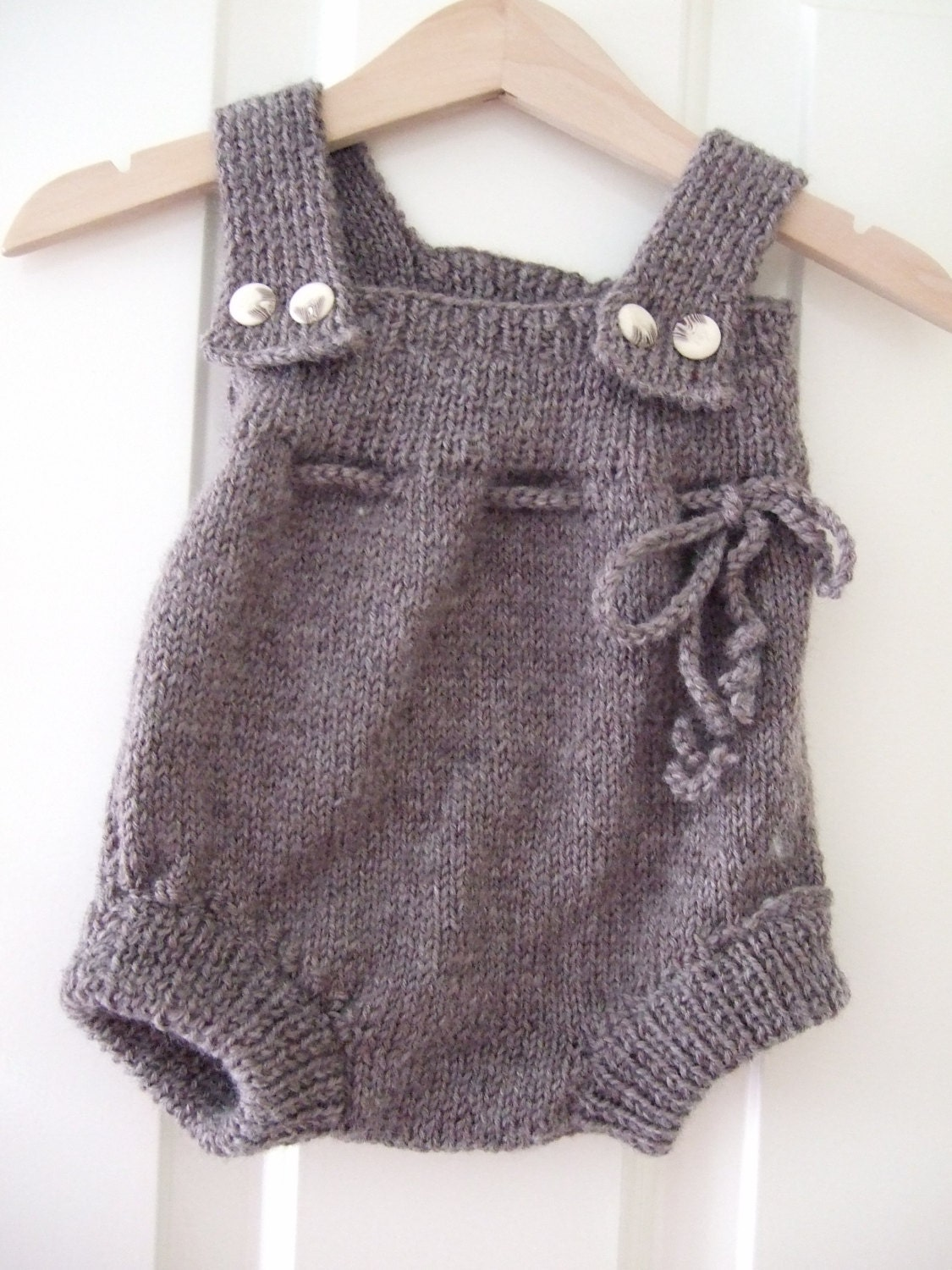 Knitting Patterns For Baby Jumpsuits : Dining & Serving