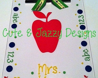 Personalized Acrylic Clipboard