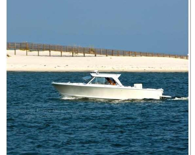 Boat in Gulf Photography