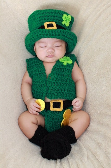 Baby St Patrick S Day Leprechaun Outfit