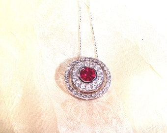 Ruby 3-in-1 Circle Necklace Wear 3 Ways