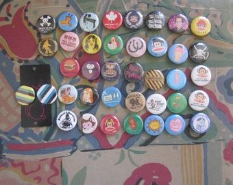 Lot 39 Paul Frank Buttons