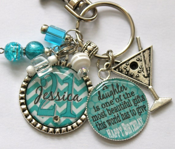 Personalized 21st Birthday Gift Name Sister Aunt Daughter Nana