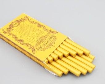 16 Pieces High Quality Sealing Wax Sticks - Wax - Sealing Wax Seal - Seal Stamp - Gold