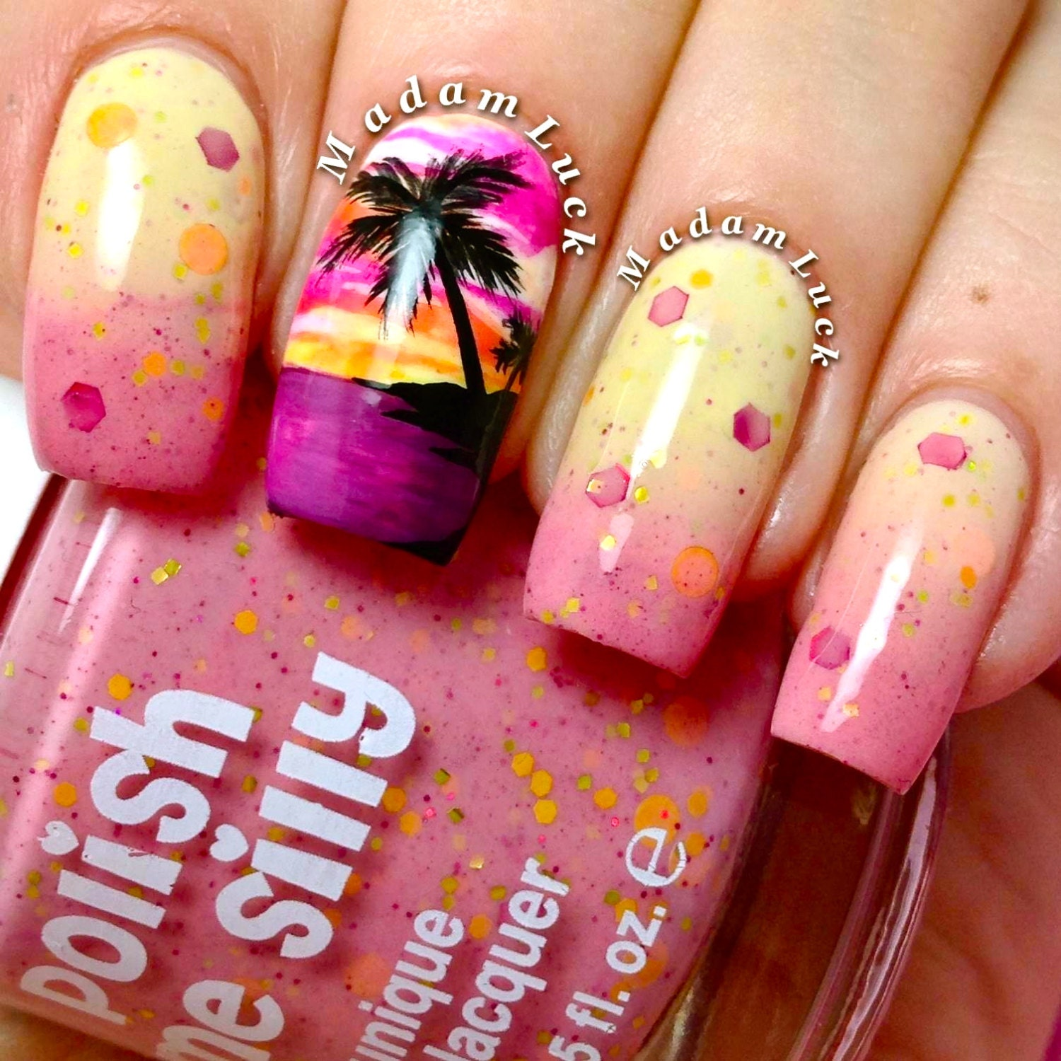 Today Live Sports: Sizzling Sunset- -Color Changing Thermal Nail ...