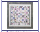 Stop and Stitch the Flowers (BRD-046) Cross Stitch Design