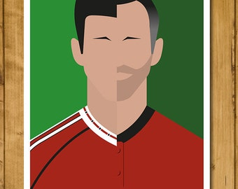 Manchester United FC - Ryan Giggs Poster (420 x 297mm - A3)