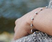 Gray Pearl Bracelet-Fresh...