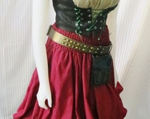 Renaissance  Gypsy/Wench Costume from Fashion Rules on Etsy