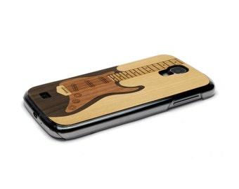 For Samsung Galaxy S4 Case Wood Electric Guitar Case Music, S4 Case, Wood Galaxy, S4 Wood Case, S4 Cover, Wood Galaxy S4