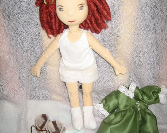 Patty, an Irish, dress-up doll