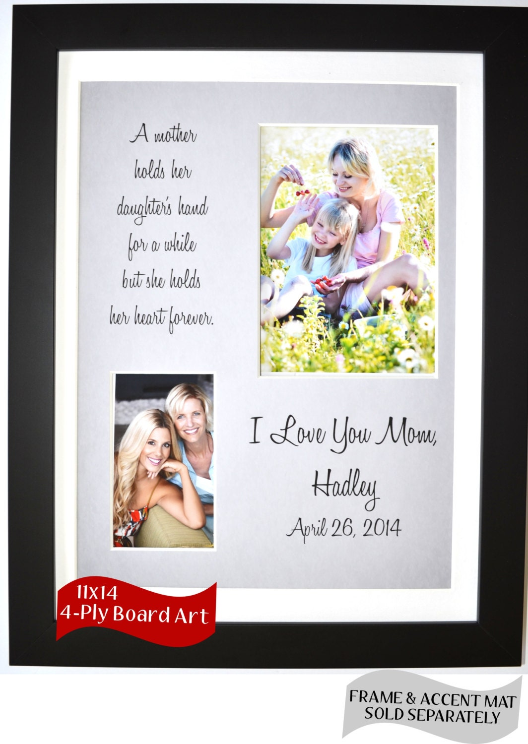 Wedding Thank You Gift For Mom : Wedding thank you gift personalized gift for mom custom by Picmats