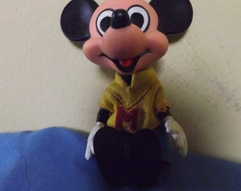 1967 Collectible Mickey Mouse Mechanical Doll