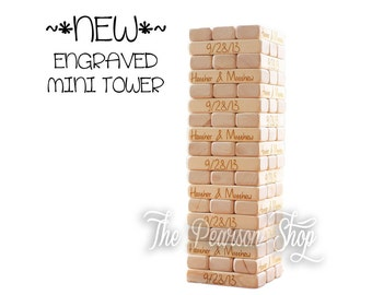 Engraved Mini Tower