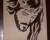 Scroll Saw Woodwork - Jesus