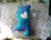 ON SALE! I Love Mississippi in Teals & Purples