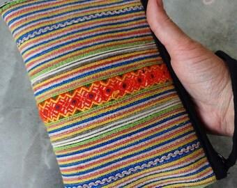 Tribal Vintage Hmong Bag, Tribal Bag, Vintage Bag, Hmong Bag, Hippie Bag, Boho Bag, Small Bag, Purse, Phone Bag, Hippie Purse, Boho Purse