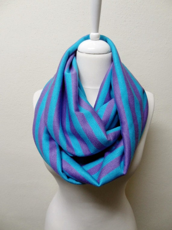 stripe knit fabric infinity scarf circle scarf scarves