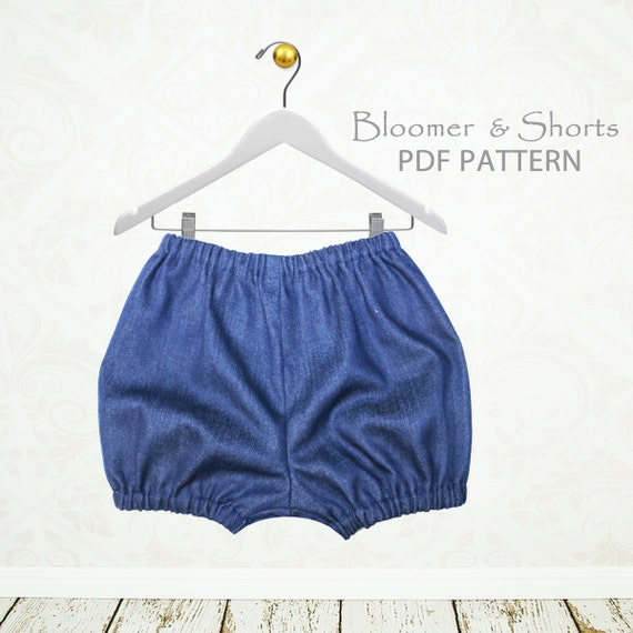 Baby sewing pattern pdf diaper cover by MyChildhoodTreasures