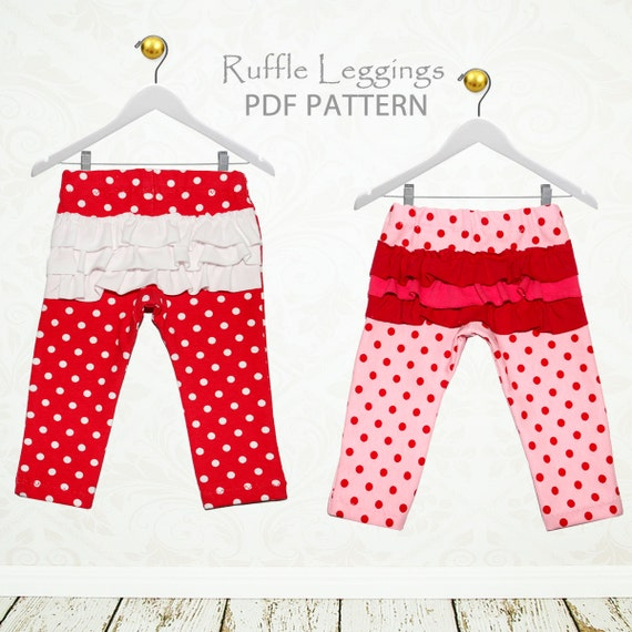 Baby leggings pattern baby sewing pattern baby pants pattern