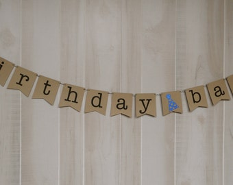 Birthday Bash Banner . Happy Birthday Banner . Birthday Decor . Birthday Bash . Happy Birthday . Customized . Custom Color Choices
